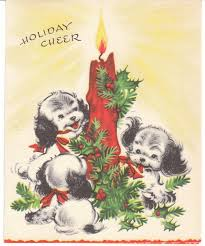 264 best christmas dogs images on pinterest vintage christmas
