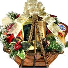 gift baskets christmas an fashioned christmas gift basket