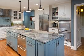 Remodeled Kitchens With Painted Cabinets Trend In Kitchen Remodeling Painted Cabinets Kitchen Kraft Inc