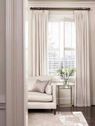Windows Treatment Ideas For Living Room by After The New Drapes Went Up I Realized We Needed Some Privacy I