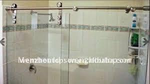 Shower Sliding Door Hardware Buy Frameless Glass Sliding Shower Door Shower Partition Shower