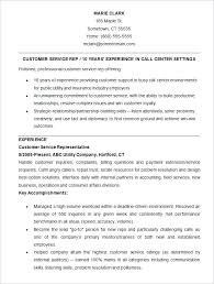 sample resume format for experienced person sample customer