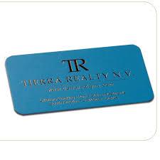 slim business cards silk laminated foil slim business cards