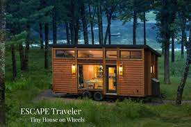 Tiny House by Escape Traveler Tiny House On Wheels