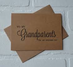 grandparents thank you card wedding day grandparents cards my