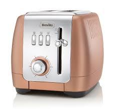 rose gold appliances buy breville vtt845 2 slice toaster rose gold soundstore