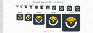 android icon size sizes guidelines for designing app icons ios android logos