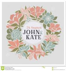 wedding flowers images free floral wreath vector wedding design royalty free stock