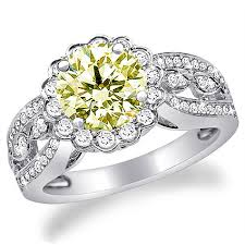 fancy wedding rings yellow diamond colored wedding rings the wedding specialiststhe