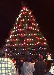 tree lighting celebration