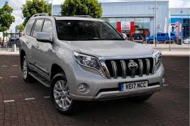 used toyota landcruiser cars for sale motors co uk