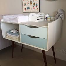 mid century changing table mid century modern baby changing table changing table ideas