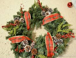 Christmas Decorations And Wreaths by Christmas Evergreen Wreath Tutorial