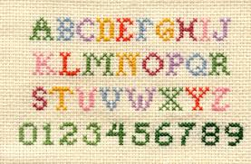 free alphabet cross stitch patterns
