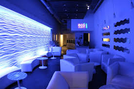 Interior Design Boca Raton Store Interior Design In Blue Led Color Of Eco Yogurt Lounge Boca