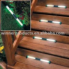 deck stairs lights lights over stairs deck outdoor lights over
