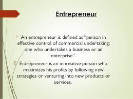 entrepreneurship powerpoint slide