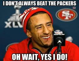 Packers 49ers Meme - nfl memes on packers colin kaepernick and san francisco 49ers