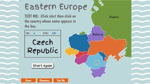 Europe Map With Country Names by Eastern Europe Geography Youtube