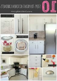 Livelovediy by Livelovediy How To Paint Kitchen Cabinets In 10 Easy Steps For