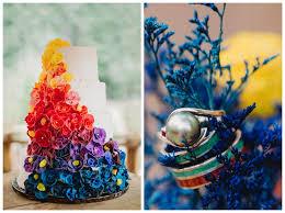 tie dye wedding dress dip dyed wedding dress pics