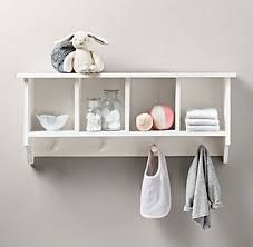 Wall Bookshelves For Nursery by Wall Storage U0026 Shelving Rh Baby U0026 Child