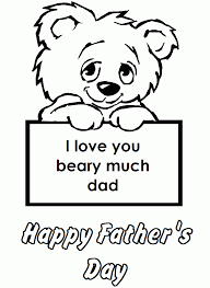 happy fathers day coloring page coloring home