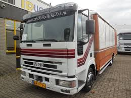 iveco eurocargo tector 80e ml 80e18 manual closed box trucks for