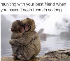 Memes About Best Friends - reuniting with best friend russian memes