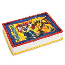 transformers bumblebee and optimus party cake topper transformers optimus edible cake image decoration birthdays
