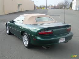 1995 camaro colors 1995 polo green metallic chevrolet camaro z28 convertible