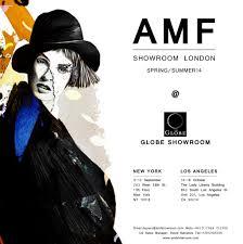 Showroom Invitation Card Amf Showroom In New York Fashion Week From 9 September Amf Showroom