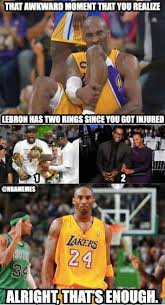 Kobe Bryant Injury Meme - kobe bryant planning a return sorrylebron http