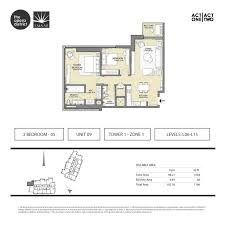 floor plans act one act two dubai opera district downtown by emaar