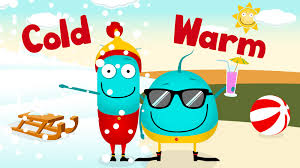 Warm Full Song Warm Cold This U0026 That Opposites Nursery Rhymes