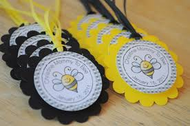 bumblebee decorations 12 ba shower favor tags bumble bee ba shower to within
