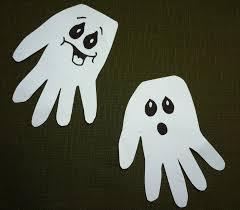 handprint halloween craft handprint