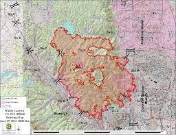 Wildfire Map America by Colorado Wildfire Fire Earth