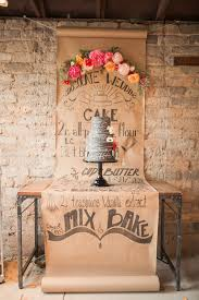wedding cake extract artist chalkboard inspired wedding ruffled