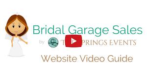 Bridal Garage Sales
