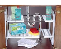 Under Sink Storage Ideas Bathroom by Under Kitchen Sink Storage Under Sink Bathroom Storage Solution