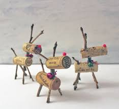 top 3 diy wine cork reindeer ornaments for your next day