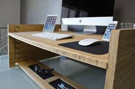 Standing Portable Desk Portable Standing Desk Lets You Work As You Please U2013 Cube Breaker