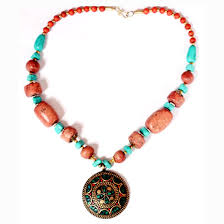 beads necklace images Nepal tribal beads necklace jpg