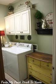 laundry room engaging laundry room decoration using light green