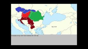 Map Of Europe 1919 by Hungarian Romanian War Of 1919 Youtube