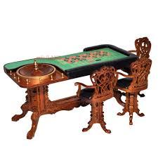 casino tall chair play game room dollhouse miniature 1 12 high bar