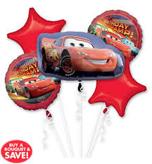 deliver balloons cheap disney cars lightning mcqueen birthday balloons