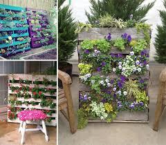 Diy Vertical Pallet Garden - decor of pallet garden decor top 10 diy garden decoration ideas
