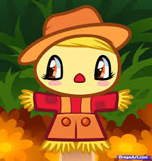 thanksgiving info for kids learn how to draw a scarecrow for kids halloween seasonal free